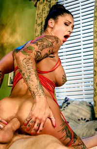 Hard Anal With Tattooed Bonnie Rotten