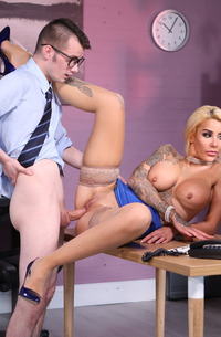 Secretary Alice Judge Is Penetrated In Office