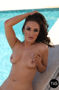 Hot Bikini Model Jess Black