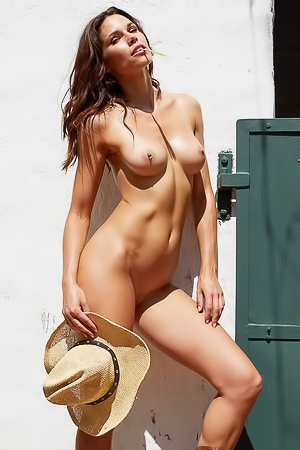Katerina Giannoglou Getting Naked In Farm